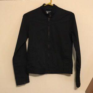 Black Volcom Women's Moto Jacket